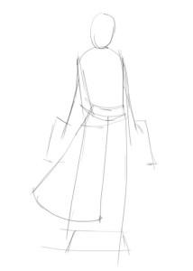 Как-нарисовать-аниме-девушку-карандашом-поэтапно-1