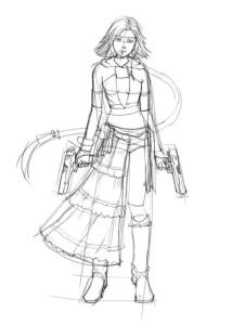 Как-нарисовать-аниме-девушку-карандашом-поэтапно-3