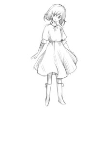 Как-нарисовать-девочку-в-платье-4
