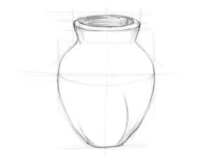 Как-нарисовать-вазу-карандашом-поэтапно-2