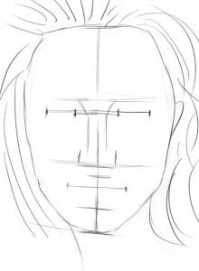 Как-нарисовать-женское-лицо-карандашом-поэтапно-3