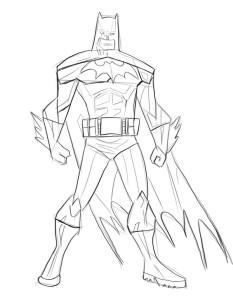 Как-нарисовать-Бэтмена-карандашом-поэтапно-4