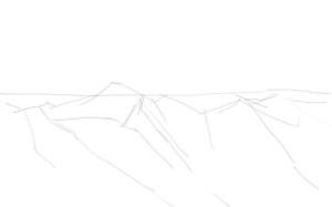 Как-нарисовать-горы-карандашом-поэтапно-1
