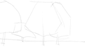 Как-нарисовать-клен-карандашом-поэтапно-1