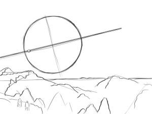 Как-нарисовать-космос-карандашом-поэтапно-2