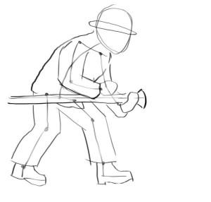 Как-нарисовать-пожарника-карандашом-поэтапно-2