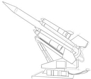 Как-нарисовать-ракету-карандашом-поэтапно-3