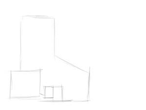 Как-нарисовать-Белоснежку-карандашом-поэтапно-1