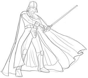 Как-нарисовать-Дарта-Вейдера-карандашом-поэтапно-4