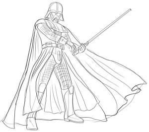 Как-нарисовать-Дарта-Вейдера-карандашом-поэтапно-5