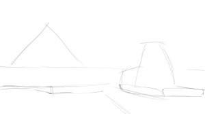 Как-нарисовать-Египет-карандашом-поэтапно-1