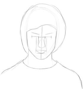 Как-нарисовать-Гарри-Поттера-карандашом-поэтапно-3