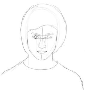 Как-нарисовать-Гарри-Поттера-карандашом-поэтапно-4