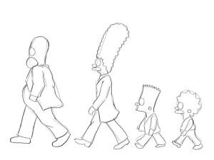 Как-нарисовать-Симпсонов-карандашом-поэтапно-2