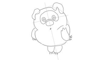 Как-нарисовать-Вини-Пуха-карандашом-поэтапно-3