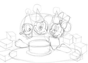 Как-нарисовать-день-рождения-карандашом-поэтапно-2