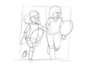 Как-нарисовать-детство-карандашом-поэтапно-1