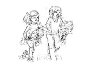 Как-нарисовать-детство-карандашом-поэтапно-2