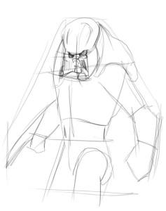 Как-нарисовать-хищника-карандашом-поэтапно-2