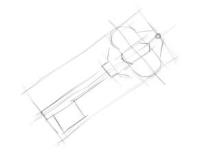 Как-нарисовать-ключ-карандашом-поэтапно-2