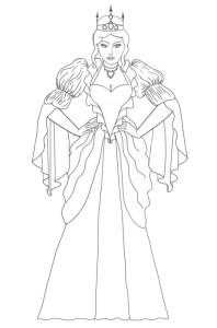 Как-нарисовать-королеву-карандашом-поэтапно-6