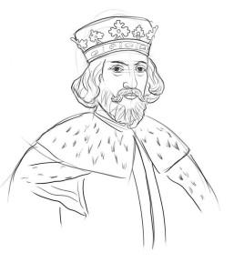 Как-нарисовать-короля-карандашом-поэтапно-5