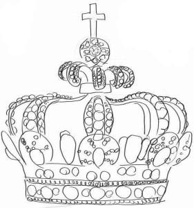 Как-нарисовать-корону-карандашом-поэтапно-4