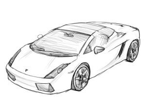 Как-нарисовать-ламборджини-карандашом-поэтапно-5