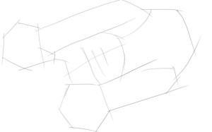 Как-нарисовать-лапы-карандашом-поэтапно-1