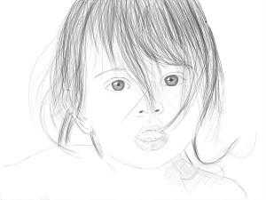 Как-нарисовать-младенца-карандашом-поэтапно-4