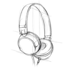 Как-нарисовать-наушники-карандашом-поэтапно-3