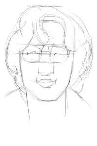 Как-нарисовать-очки-карандашом-поэтапно-2