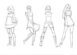 Как-нарисовать-одежду-карандашом-поэтапно-3