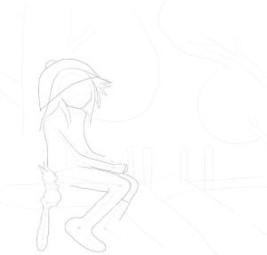 Как-нарисовать-осень-карандашом-поэтапно-2