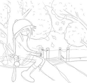 Как-нарисовать-осень-карандашом-поэтапно-3