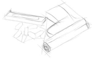 Как-нарисовать-пистолет-карандашом-поэтапно.-2