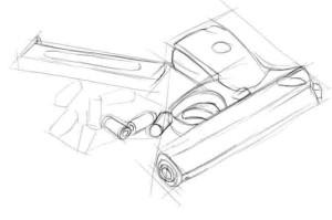 Как-нарисовать-пистолет-карандашом-поэтапно.-3
