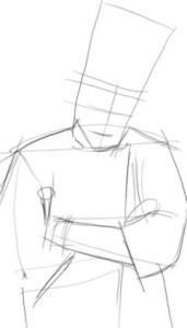 Как-нарисовать-повара-карандашом-поэтапно-2