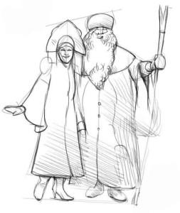 Как-нарисовать-снегурочку-карандашом-3