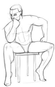 Как-нарисовать-тело-человека-карандашом-поэтапно-3