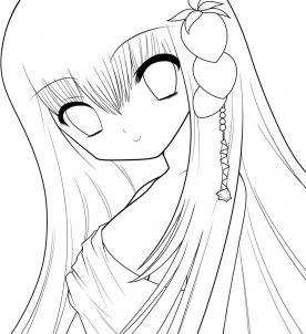 Как нарисовать аниме лицо, аниме лицо