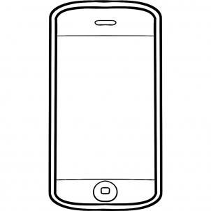 нарисованный айфон