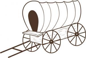 нарисованный фургон