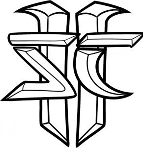 нарисованный герб старкрафт